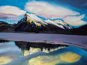GLORY MT RUNDLE OUT OF THE BLUE  SERIES  2017 006